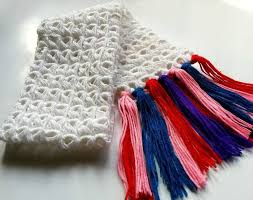 broomstick crochet diy broomstick crochet scarf 7 steps with pictures