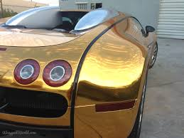 gold and white bugatti bugatti veyron gold wrapped for us rapper flo rida photos 1 of 7