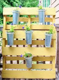 pallet garden decor u2013 home design and decorating
