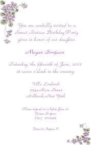 sweet 16 invitations sweet sixteen invitation wording sweet 16 invitations wording sweet