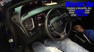 civic si manual transmission remote start viper 5706v youtube