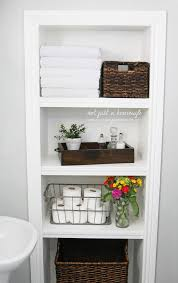shelf ideas for bathroom 44 best small bathroom storage ideas and tips for 2018