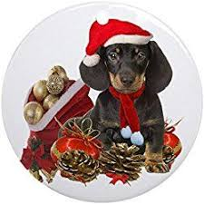 131 best dachshund christmas ornaments images on pinterest