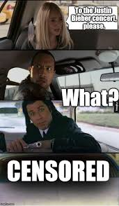 Pulp Fiction Memes - the rock and vincent give her a ride memes imgflip