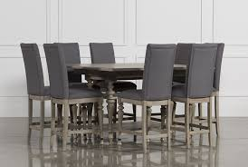 caira 9 piece extension counter set living spaces