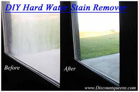 how do you get soap scum off glass shower doors easy diy 2 ingredient hard water stain remover spray and walk away