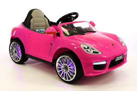 porsche pink kiddie roadster 12v kids electric ride on car battery powered