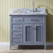 Bathroom Vanity With Mirror by Left Offset Vanity All Bathroom Vanities Wayfair