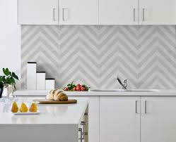 Kitchen Splash Guard Ideas Milan Ash Kitchen Splash Back Laid In A Chevron Pattern Now