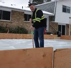 Backyard Ice Rink Plans by Diy Backyard Ice Rink Hockey Dad Keith Travers