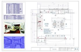 100 kitchen floor plan software cad architecture home