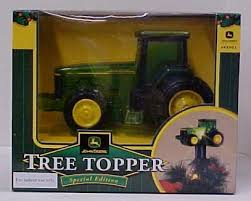 John Deere Christmas Tree Topper