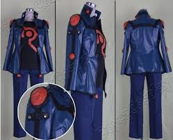 Halloween Costume Cool Yu Gi 5d U0027s Yusei Fudo Cosplay Costume Wholesale Retial