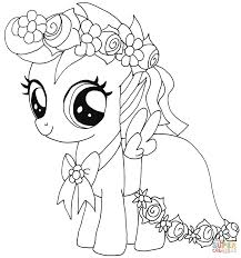 coloring my little pony rainbow dash book heart coloring pages