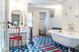 Small Rugs For Bathroom Flat Woven Small Rugs In Our Bathroom In Amsterdam The