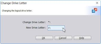 how to assign and remove drive letter with diskpart
