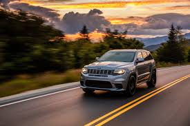 jeep hawk track 2018 jeep grand cherokee trackhawk first drive fastest suv
