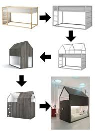Ikea Bunk Bed Tent Best 25 Ikea Canopy Bed Ideas On Pinterest Tree House Beds