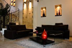 contemporary living room furniture living room with black furniture american living room design
