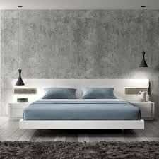 A Regal Modern Midtown Apartment Image Of Blue White And Grey - Bedroom furniture designer