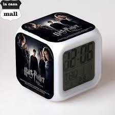 sveglia comodino harry potter sveglia digitale bambini orologio led di notte