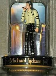 michael jackson the king of pop with mic ornament