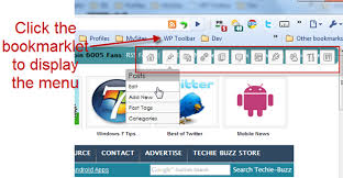 wordpress admin menu bookmarklet png