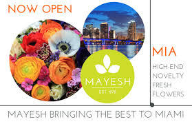 wholesale flowers miami press release mayesh brings wholesale floral expertise to south