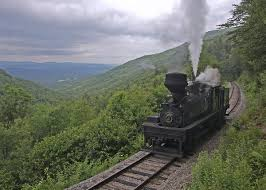 West Virginia travel tattoos images Cass scenic railroad shay 4 drifts downgrade just below old jpg