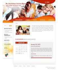 download a free wordpress theme for teachers