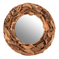 Decorative Mirrors Target Mirror Rustic Style Home Accessories Ideas With Unique Driftwood
