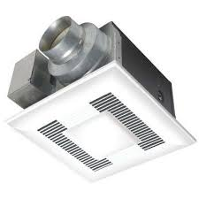 hunter 83002 ventilation sona bathroom exhaust fan with light flush mount bath fans bathroom exhaust fans the home depot