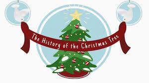 history of the christmas tree youtube