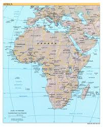 Africa Map With Cities by Free Download Of Africa Maps