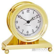 Nautical Desk Clock Chelsea Clock Brass U0026 Nickel Constitution Desk Clocks Brass