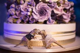 unique wedding toppers wedding cakes view dinosaur wedding cake toppers for the big day