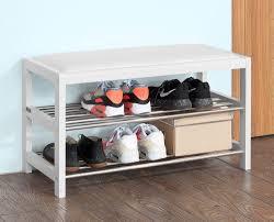 Shoe Shelf Bench by Dining Shoe Rack Storage Bench Furniture Shoe Storage Design