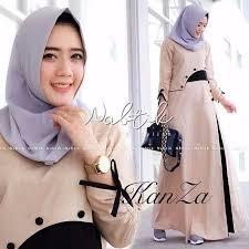 Baju Muslim Dewasa Ukuran Kecil dress muslimah terbaru termurah lazada co id