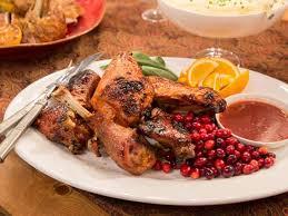 cranberry orange glazed turkey recipe giada de laurentiis food