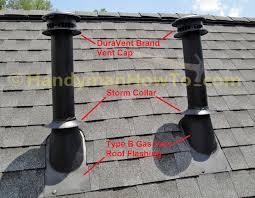 decor interesting design of roof vent cap for home decoration