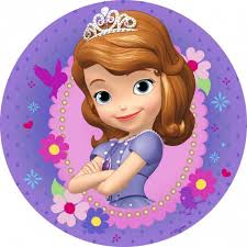 sofia the cake topper image sofia the purple icing cake topper jpg