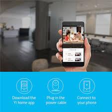 yi home camera 720p night vision video monitor ip wireless network