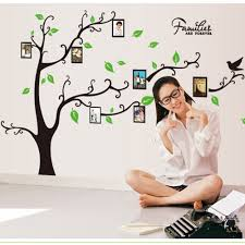 online get cheap art family tree aliexpress com alibaba group 3d sticker on the wall black art photo frame memory tree wall stickers home decor family tree wall decal