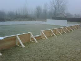 Backyard Rink Liner by Nicerink Info