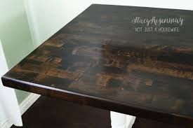 Dining Room Table Refinishing How To Refinish A Table Stacy Risenmay
