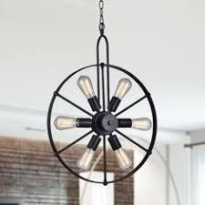 Black Chandelier Ls Light Society Ls C115 Blk Sputnik Style Chandelier Black Https