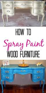 how to spray paint like a pro spray painting furniture painting