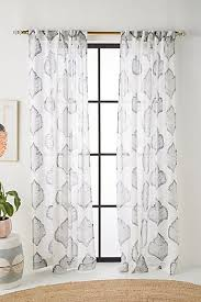 White And Grey Curtains Grey Curtains Drapes Window Treatments Anthropologie