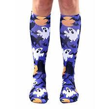 living royal halloween socks knee high hocus pocus walmart com