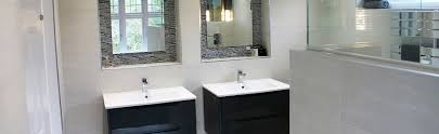contemporary wet room with integrated dressing area